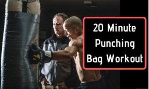 20 Minute Punching Bag Workout