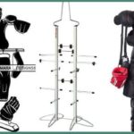 Hockey equipment drying racks
