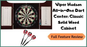 Viper Hudson Dartboard Cabinet Review