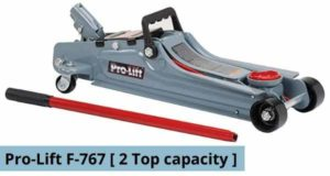 Pro-Lift F-767 Grey Low Profile Floor Jack Review
